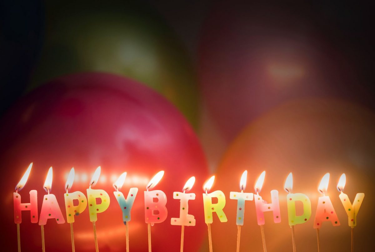 Gem billederne fra din runde fødselsdag i en fotobog